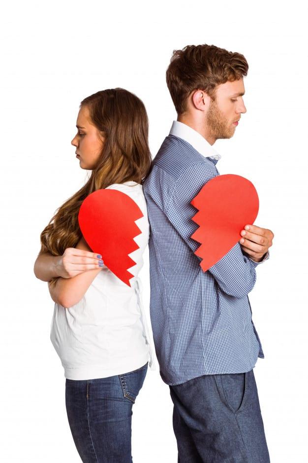 depresión por ruptura amorosa